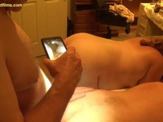 2018-10-05 Master Fucks Two Anal Sluts at Same Time BBW BDSM Mmf Bondage Bi