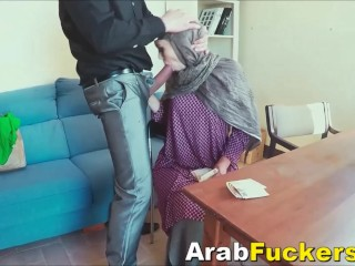 Arab Girl Applying For Job Winds Up Fucking For Cash