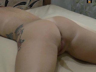 BDSM squirt, orgasm - Hitachi fuck redhead girl