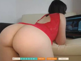Webcam flashing ashole and spread pussy