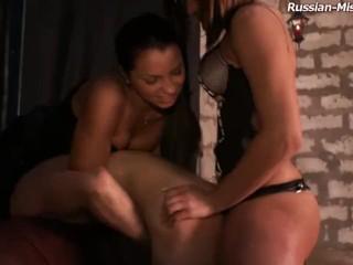 russian femdom and their slave BDSM
