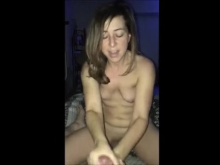 BOYFRIEND FUCKS HOT COLLEGE AND CUMS ON TITS
