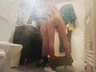 best friend fucks hard booty mom whore during house party - hidden camera