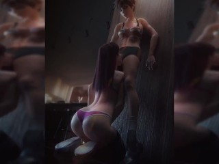 D.Va Sucking Tracer (Animation W/Sound)