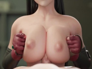 Tifa Lockhart Tit Fucked (Animation W/Sound)