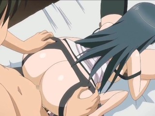 Young nymphomaniacs have a threesome | Anime hentai