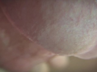 Extreme Close Up Cumshot in Slow Motion