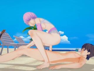 (3D Hentai)(Jojo's Bizarre Adventure) Sex with Reimi