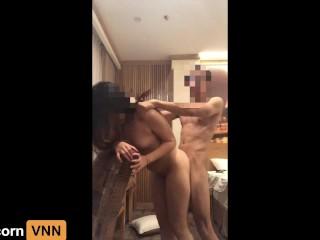 ASIAN VIETNAMESE MAN FUCKS LOVELY WIFE DURING QUARANTINE, WHO CARE COVID-1