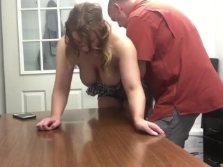 Sexy and busty divorced MILF having a real orgasm with her new neighbor