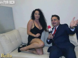 Erika Bella plays with her boobs for Andrea Diprè