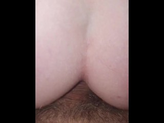 Another quick painful anal fuck on the lounge