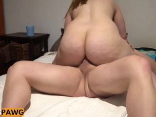 Huge Ass Pawg Anal Doggy and Cowgirl First time Anal!