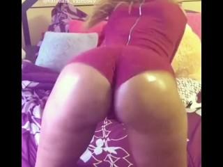 Hot fat ass Ebony Twerking compilation try to not cum