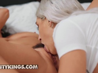 Reality Kings - Big tit Karlee Grey fucks thicc Abella Danger