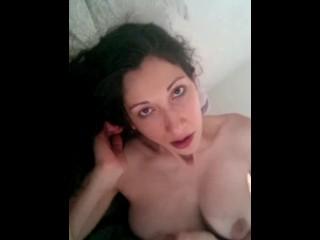 My horny pregnant slut