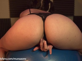 Muna Fingers Herself Unit She Cums For You! - ASMR Porn - The ASMR CollectionNSFW