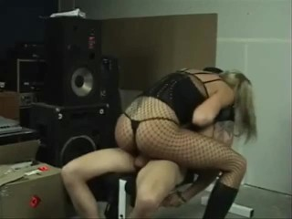 sexy chick dominates tied up man