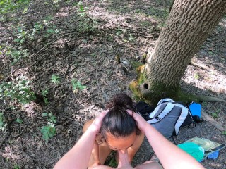 Public Agent - Amateur Babe Caught During Outdoor Doggy Style Fucking on Outdoor Bike Trail POV 4K