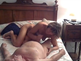 Hot granny fuck hard and swallow cum
