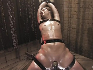 Pushed beyond her clitoral limits