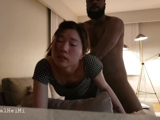 Tight Asian gets stretched by BBC for the very first time, onlyfans for full video