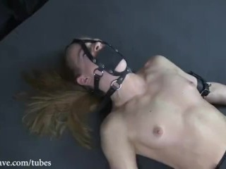 Orgasm vibrator torture and moanings