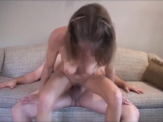 Kinky mature wife with big clit get her ass hard used by new neighbor