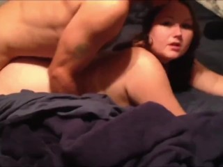 Busty Wife taking anal