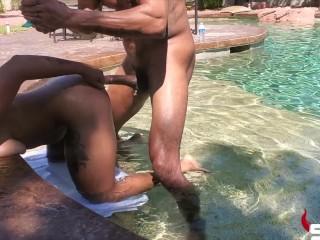 Avery Jane's Pool Fuck