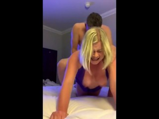 SCREAMING Anal Fuck with Friends Wife
