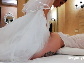 THE WEDDING NIGHT SHOULD BE LIKE THIS, THE HUSBAND IN THE CHASTITY BELT, THE WIFE WITH A STRAP-ON