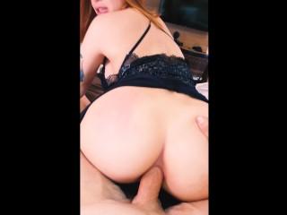 Maru Loves Anal sex and cum. Perfect girlfriend cumslut.