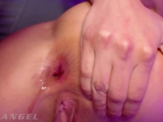 EvilAngel - Emily Willis Squirts & Cums From Rough Anal Plowing