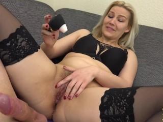 4 perfekte Orgasmen! Ungeschnitten-Heulattacke-Doppelsquirt-Arschfick-Creampie!!! l DADDYS LUDER