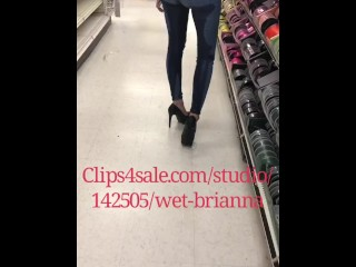 Pissing my Jeans in Public at the store