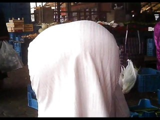 Arab Street Voyeur - big behind Candid - Spying mature booty (Part 3)