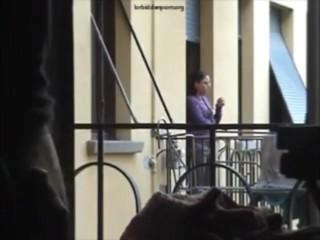 My neighbor spy how I masturbate