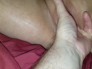 Close up brutal pussy fisting