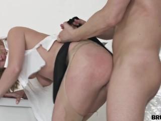 BrutalX - Office slut takes a rough fuck